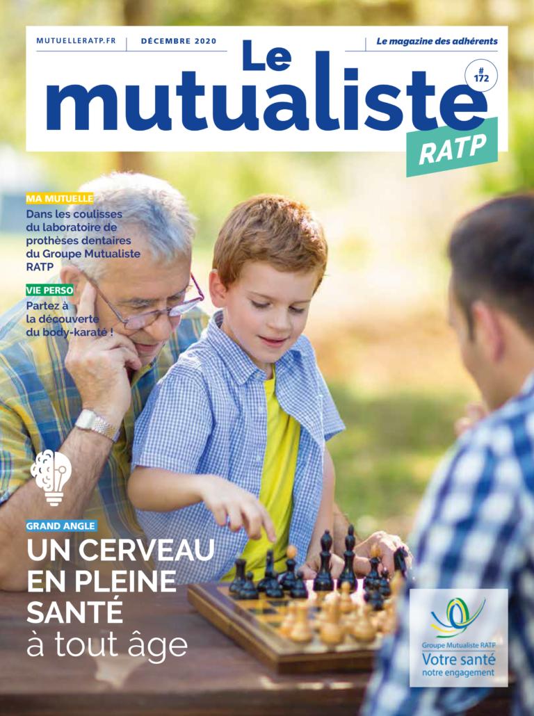 Consulter en ligne Le Mutualiste RATP – Édition décembre 2020