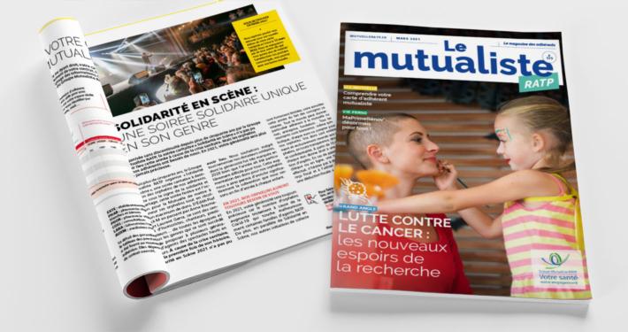 Consulter en ligne Le Mutualiste RATP – Édition mars 2021