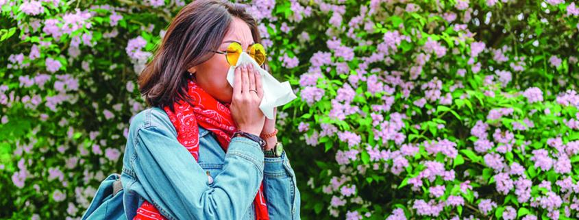 C'est le printemps , protégez-vous des pollens !