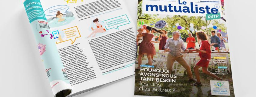 Consulter en ligne Le Mutualiste RATP – Édition juin 2021
