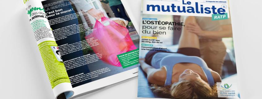 Consulter en ligne Le Mutualiste RATP – Édition septembre 2021